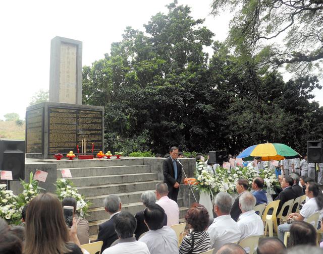 マレーシアで太平洋戦争の追悼式典「日本軍の侵略と暴行は絶対に忘れられない」の画像
