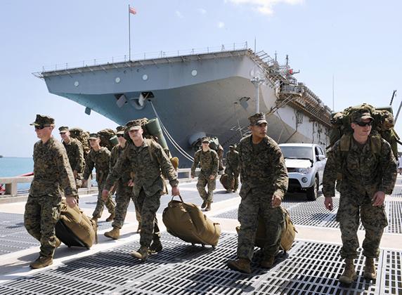 福島第1原発事故発生後の米軍による被災地支援活動「トモダチ作戦」
