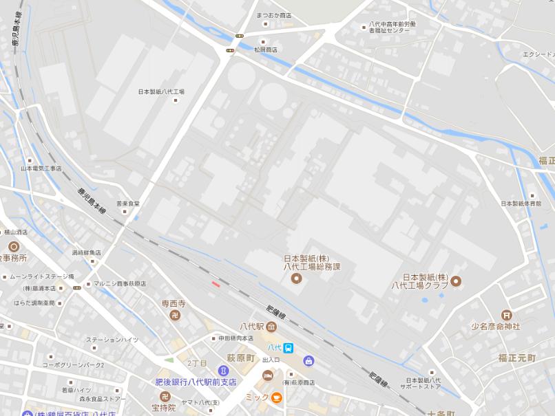日本製紙八代2017年7月21日