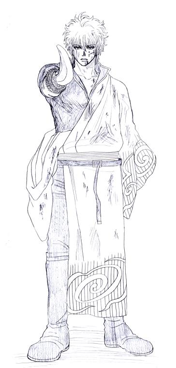 坂田銀時 紅桜篇 銀魂 銀さん
