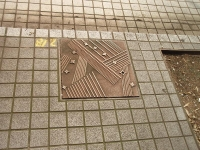 七夕マンホール
