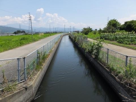 西天竜幹線水路・西天竜水路橋付近
