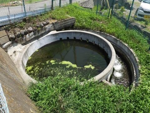 西天竜幹線水路・円筒分水工「北殿22号」