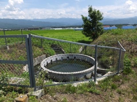西天竜幹線水路・円筒分水工「田畑29号」