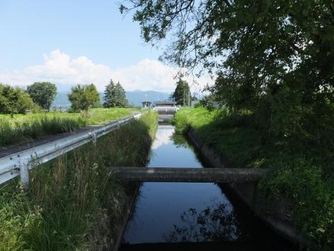 長野県企業局西天竜発電所構内