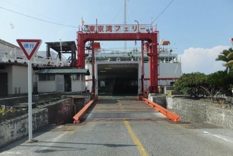 東京湾フェリー金谷港