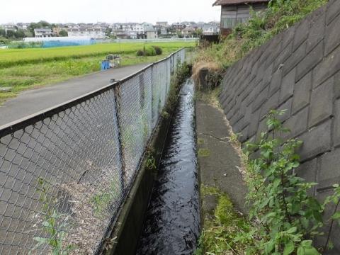 小山谷戸堰用水路