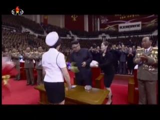 20170710 반만년민족사에 특기할 대경사를 안아온 위대한 조선로동당에 드리는 영광의 노래 경애하는 최고령도자 김정은동지를mp4_000100989