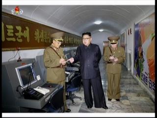 20170815 경애하는 최고령도자 김정은동지께서 조선인민군 전략군사령부를 시찰하시였다mp4_000362153