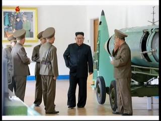 20170815 경애하는 최고령도자 김정은동지께서 조선인민군 전략군사령부를 시찰하시였다mp4_000411754