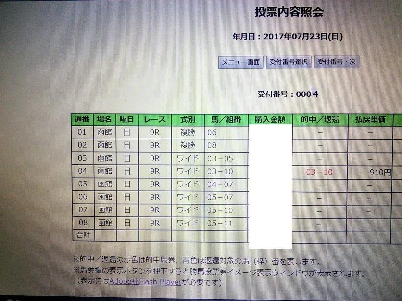 函館9R サラ3