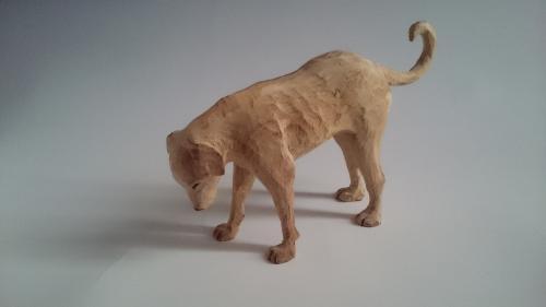 ウツムク犬