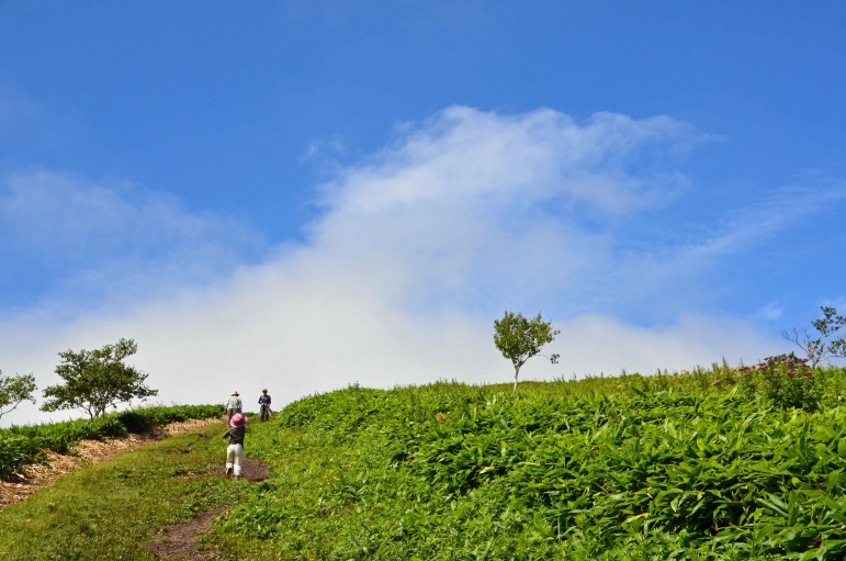 西別岳 登山