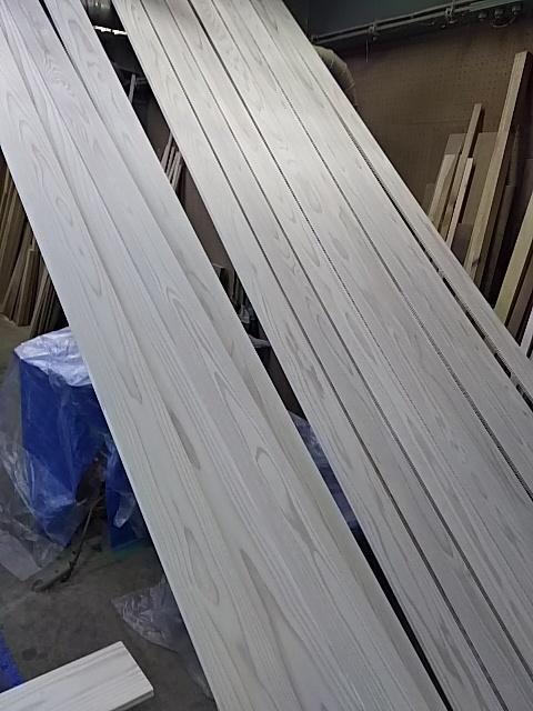 杉白羽目板