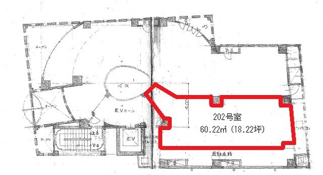 アーバンシュール202号室図面