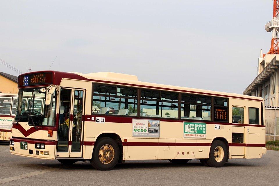 京福バス か536