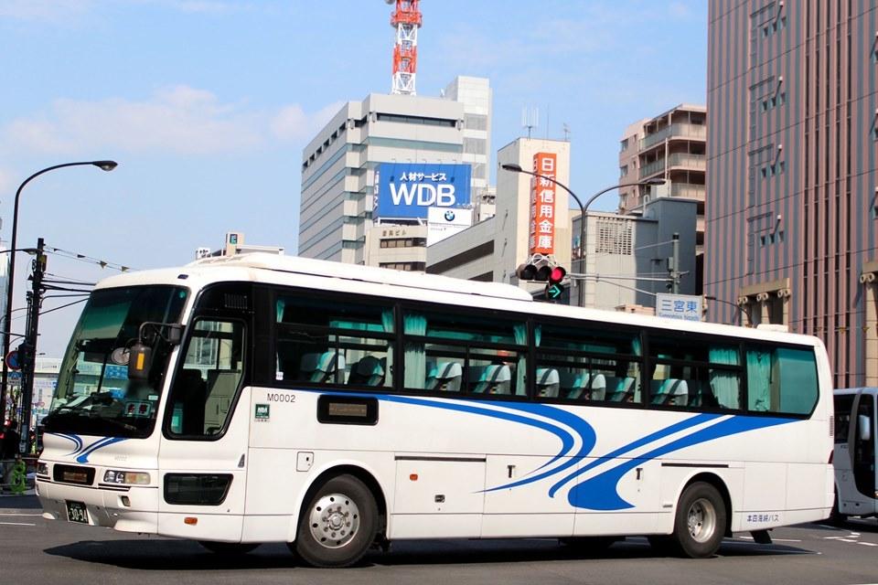 本四海峡バス M0002