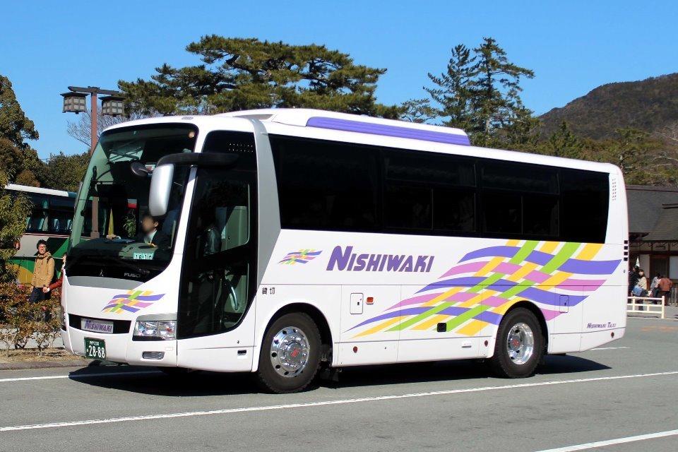 ニシワキタクシー あ2888