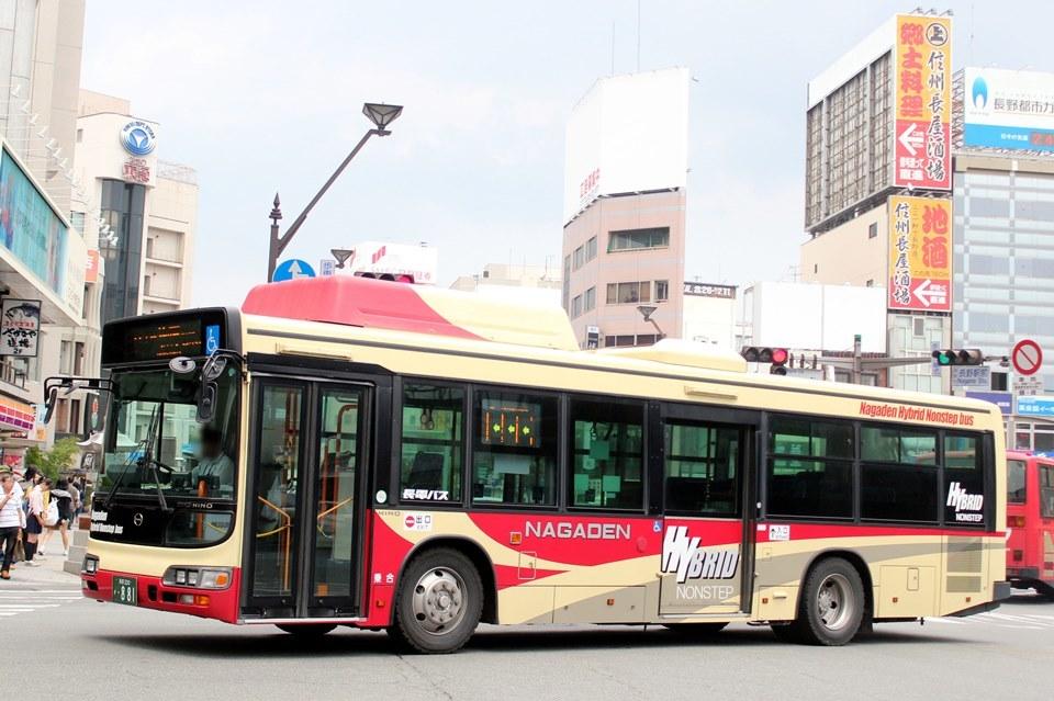 長電バス か881