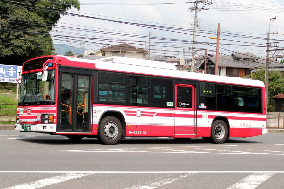 京阪バス N-6234