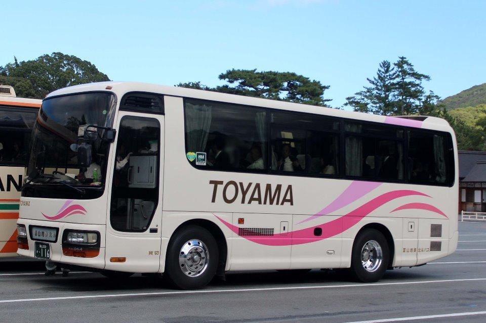 富山地鉄北斗バス か116