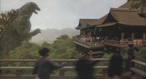 xメカゴジラ 清水寺
