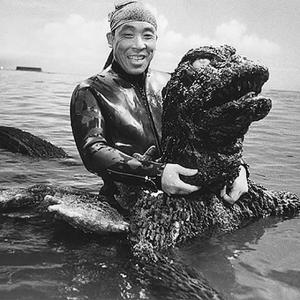 中島春雄さん 『南海の大決闘』より
