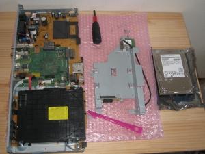 014 HDDトレイ、さらにHDDを分解
