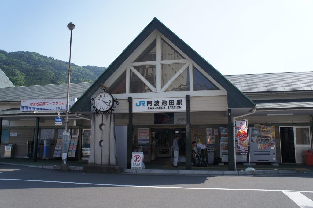 阿波池田駅11