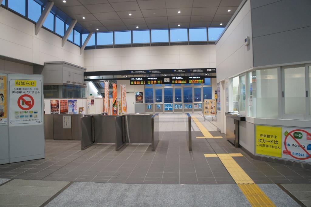 新山口駅10
