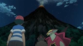 ヴェラ火山のように