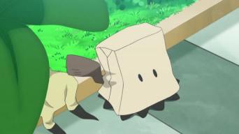 紙袋姿のミミッキュ