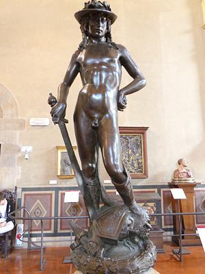 ドナテッロのダヴィデ像