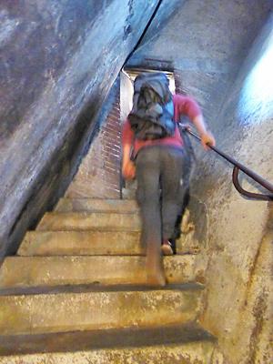クーポラ頂上への階段