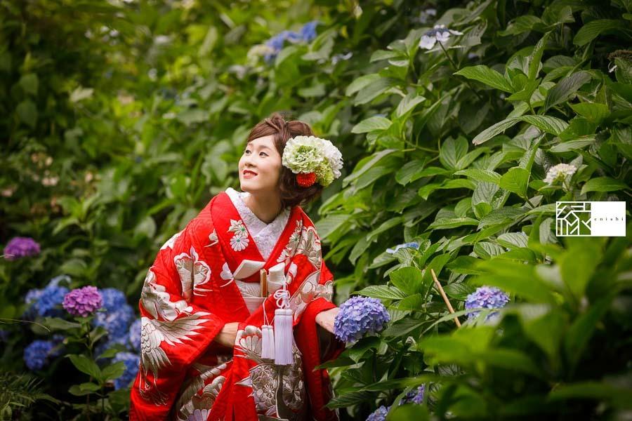 和装前撮りフォト婚食事会鎌倉縁06