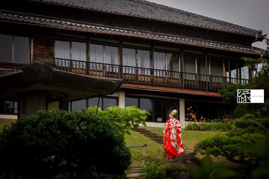 和装前撮りフォト婚食事会鎌倉縁07