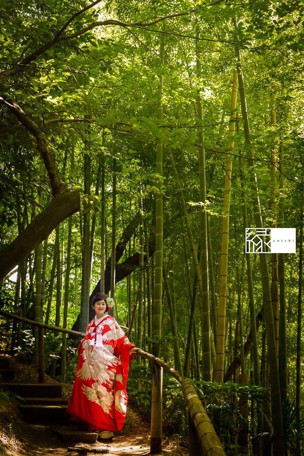 和装前撮りフォト婚食事会鎌倉縁08