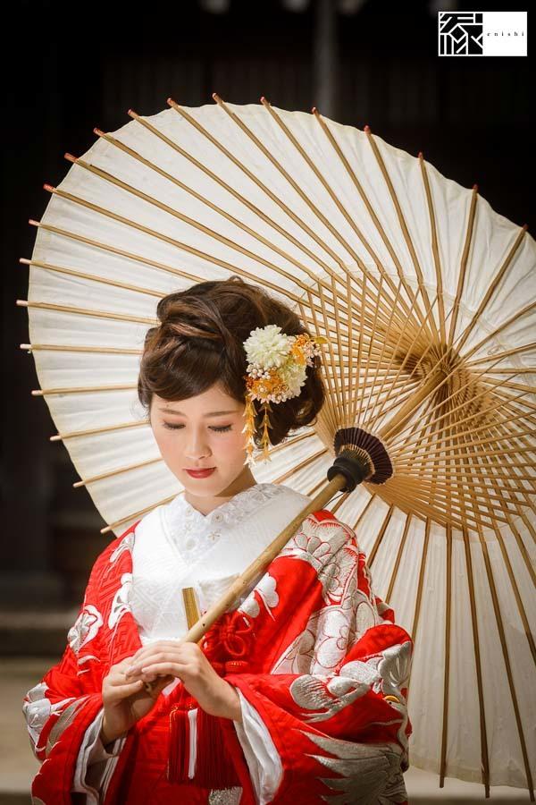 和装アレンジ前撮りフォト婚鎌倉縁07