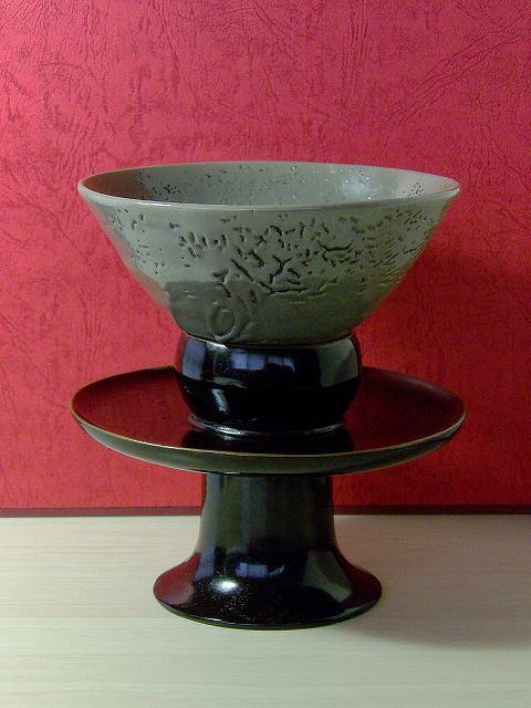 0 n 「現川焼」 秀憲窯 倣高麗茶碗