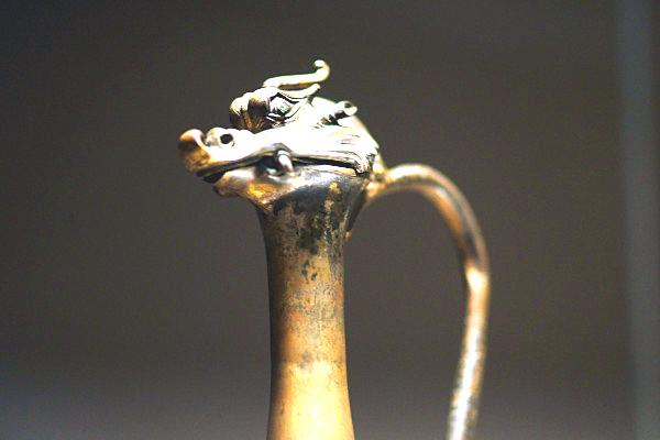 0 kki 龍首水瓶c 飛鳥時代(献納宝物243号)法隆寺献納宝物
