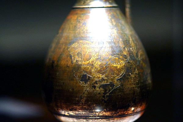 0 kki 龍首水瓶a 飛鳥時代(献納宝物243号)法隆寺献納宝物