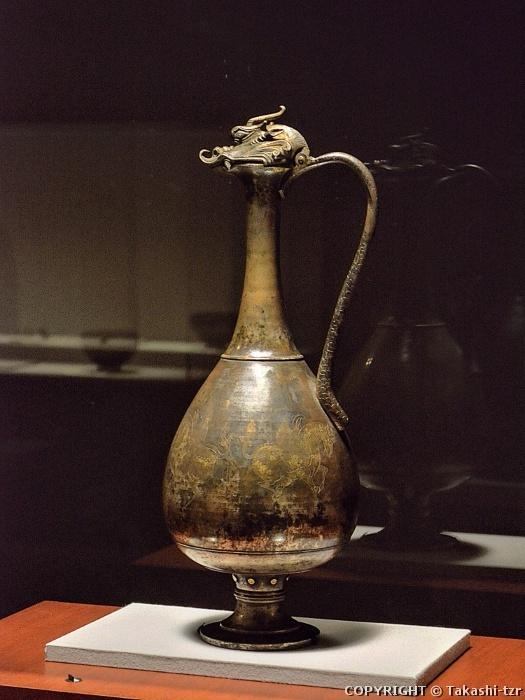0 kki 龍首水瓶d 飛鳥時代(献納宝物243号)法隆寺献納宝物