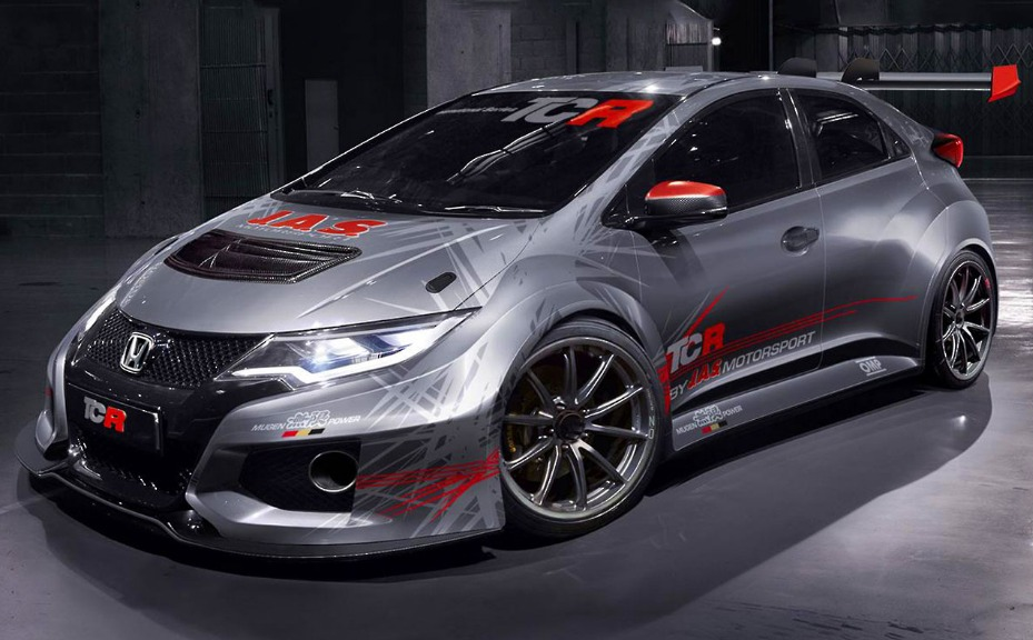 civic typer tcr 2015