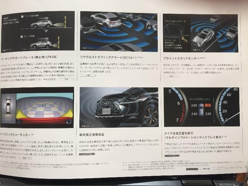 レクサス新型NXカタログ07