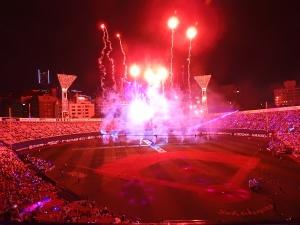 また、大きな花火を!