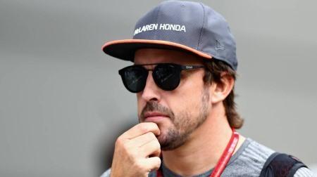 F1王者アロンソが来日中