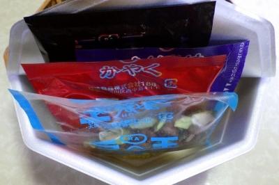 7/10発売 ラ王PREMIUM 台湾まぜそば(内容物)