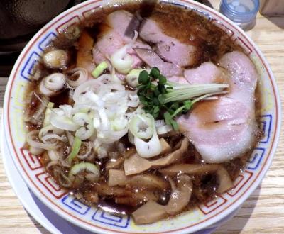 サバ6製麺所 福島本店 サバ醤油そば