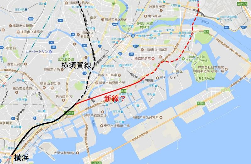 横須賀線迂回新線