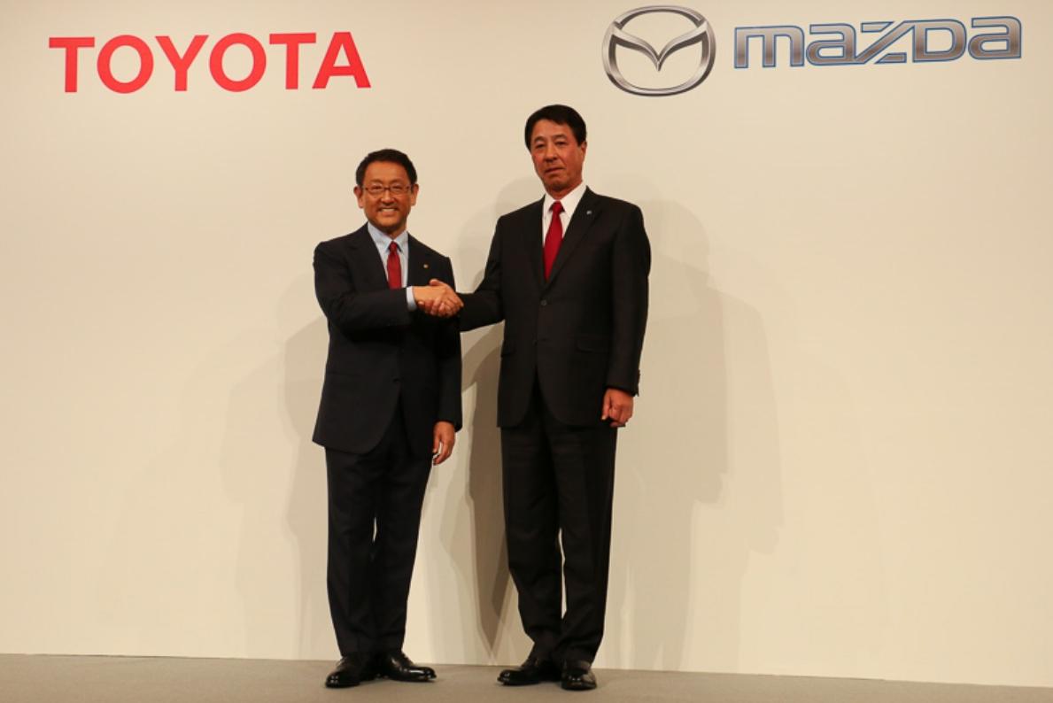 トヨタとマツダ 業務提携で合意
